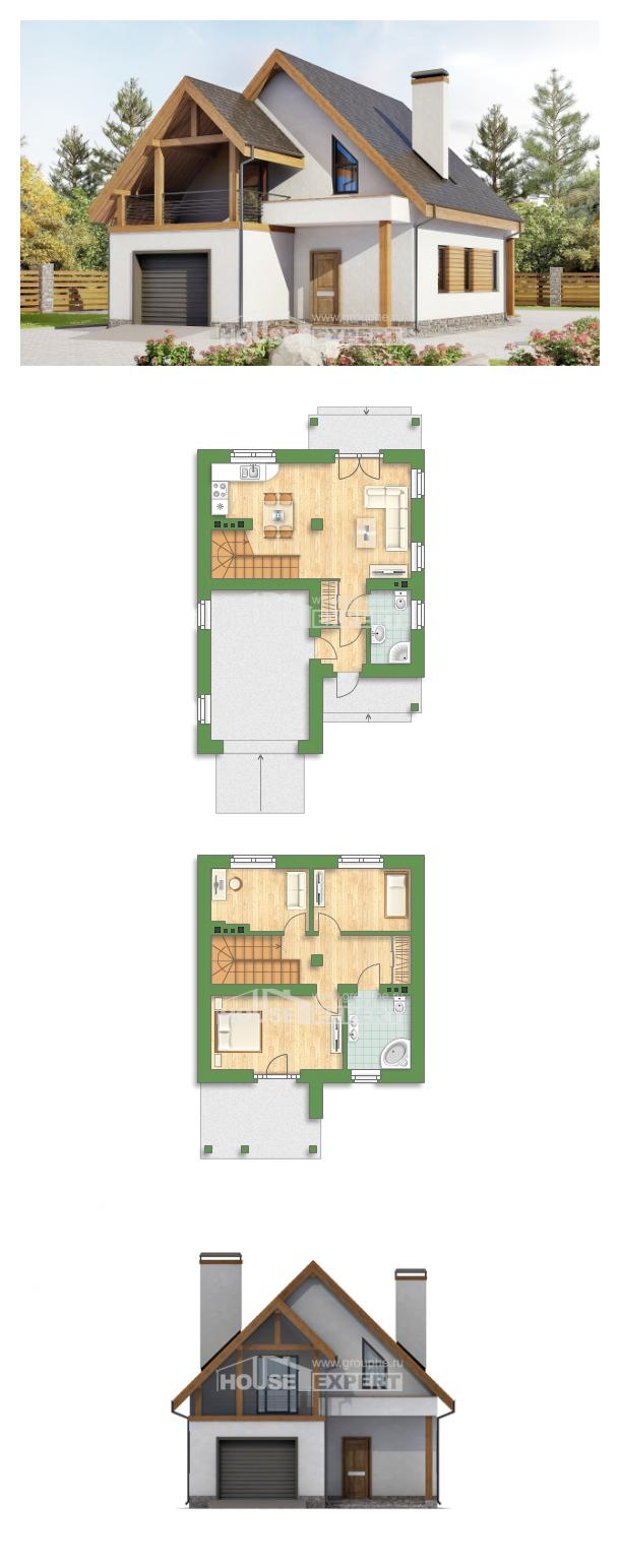 Проект дома 120-005-П   House Expert