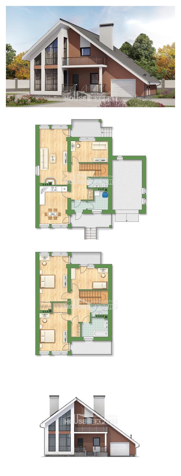 Проект дома 200-007-П | House Expert