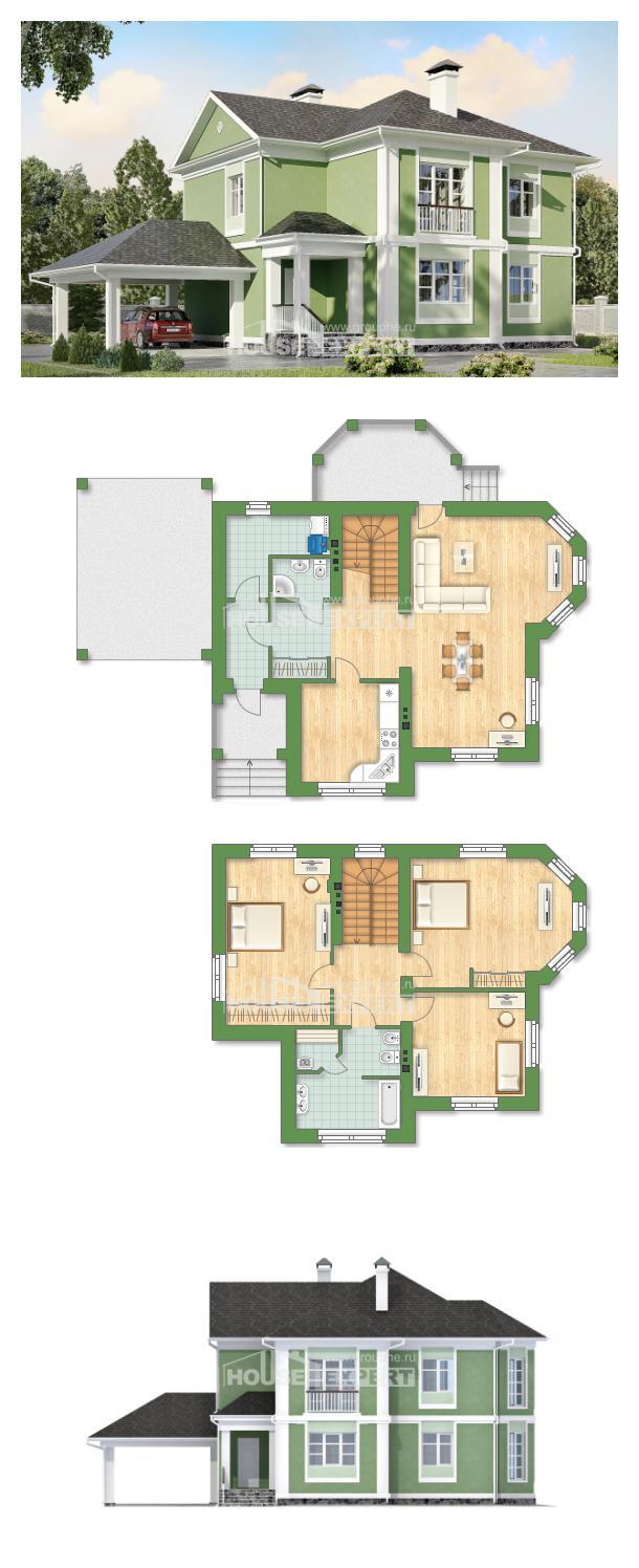 Проект дома 170-001-Л   House Expert