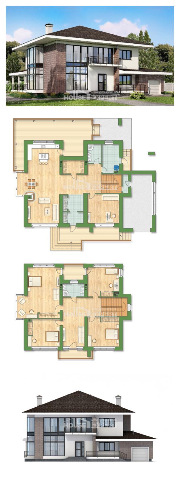 Проект дома 275-002-П   House Expert