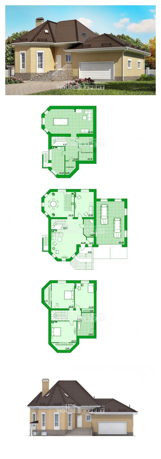 Проект дома 400-001-П | House Expert
