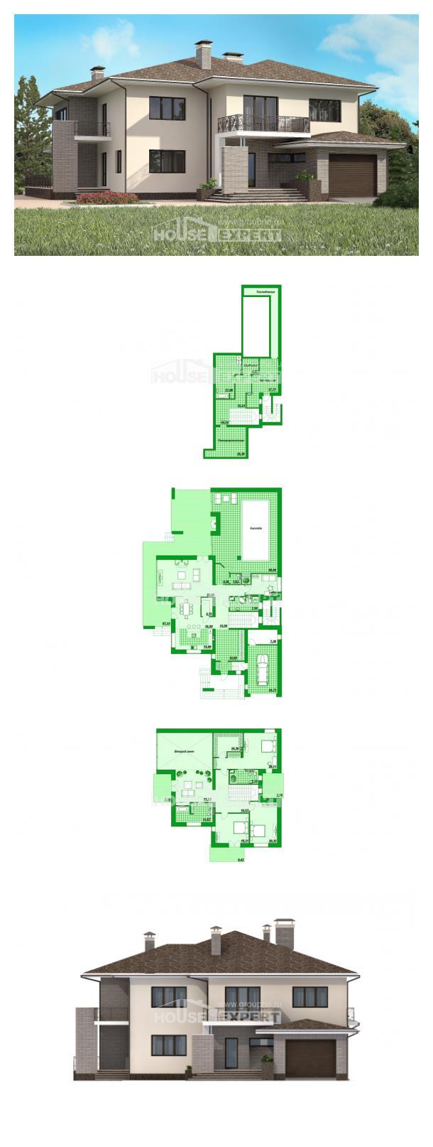 Проект дома 500-001-П   House Expert