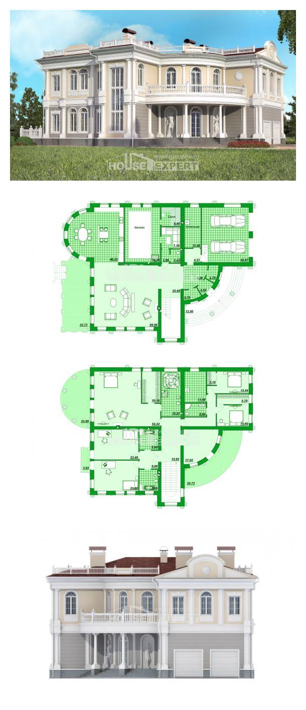 Проект дома 505-001-П | House Expert