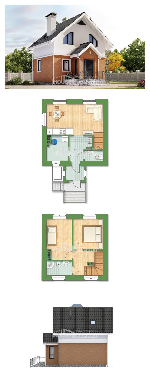 Проект дома 070-001-Л   House Expert