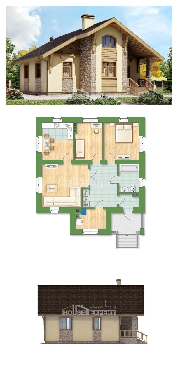 Проект дома 080-002-П | House Expert