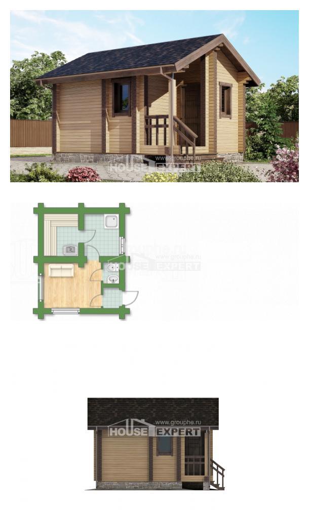 Проект дома 020-002-П | House Expert