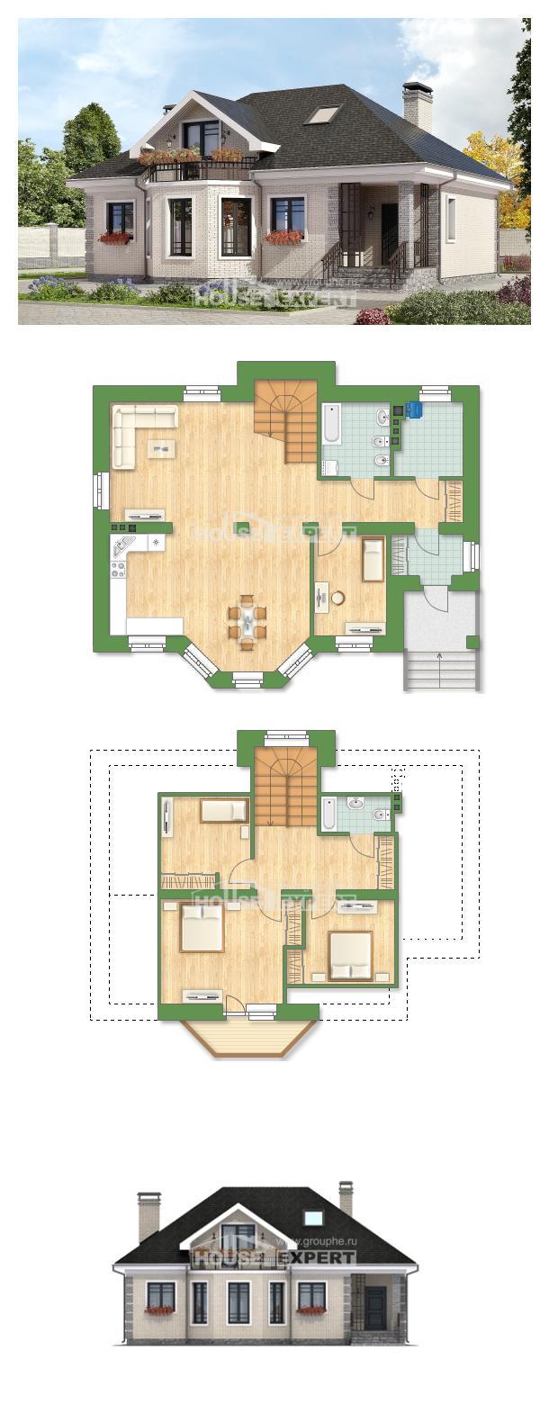 Проект дома 150-013-П   House Expert