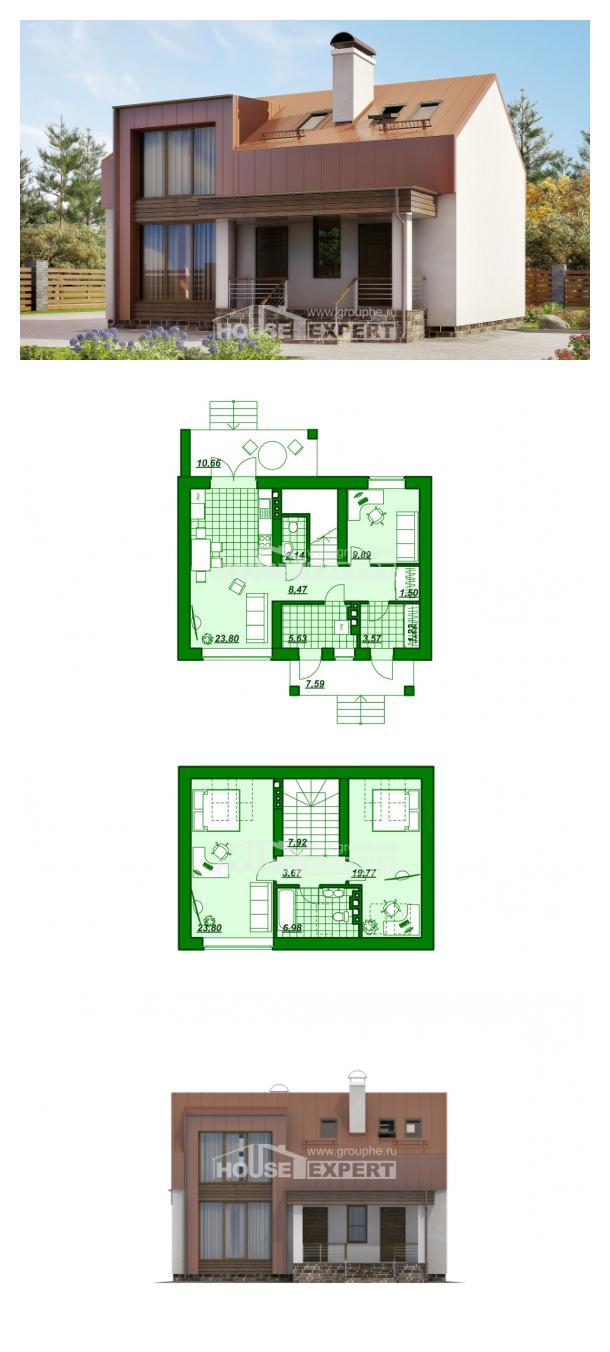 Проект дома 120-004-Л   House Expert