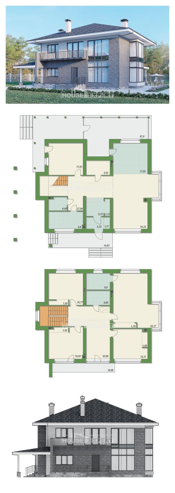Проект дома 250-004-Л | House Expert