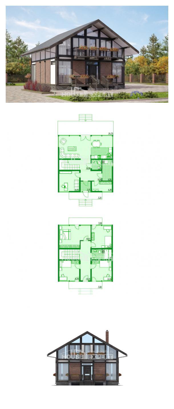 Проект дома 170-007-П | House Expert